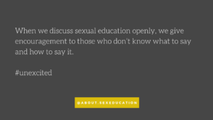 Standards in sex education